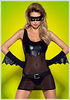 Obsessive Batty Batwoman Costume (S/M)