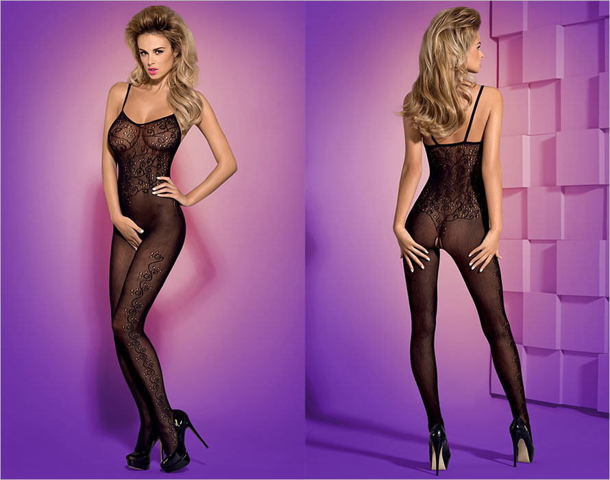 Obsessive Bodystocking F212 - Black (XL/XXL)