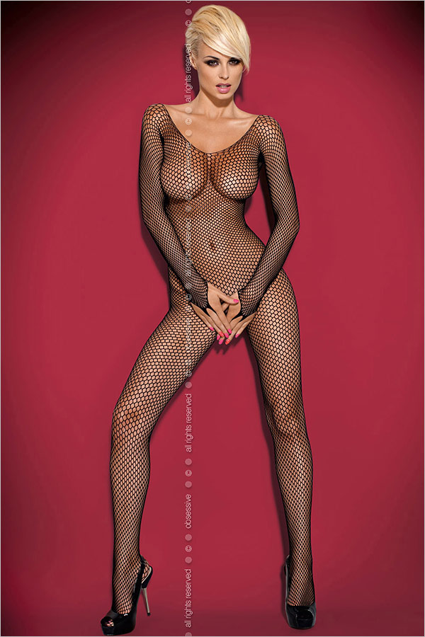 Obsessive Bodystocking N109 - Black (S/M/L)