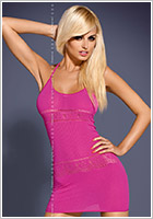 Obsessive Mini Robe D307 - Rose (S/M)