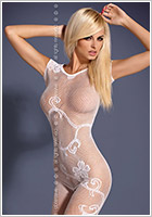 Obsessive Bodystocking F201 - White (S/M)