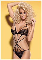Obsessive Imperia Teddy - Black (S/M)