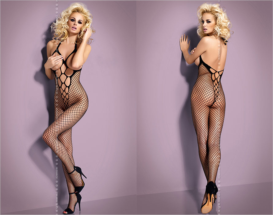 Obsessive Bodystocking N106 - Black (XL/XXL)