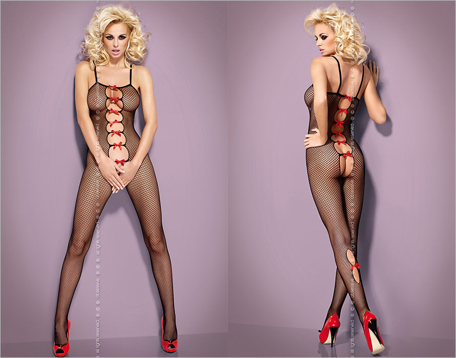 Obsessive Bodystocking N107 - Black (XL/XXL)