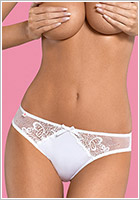 Obsessive Papilio Panties - White (S/M)