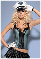 Obsessive Police Skirty Policewoman Costume (S/M)
