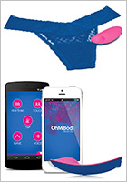 OhMiBod blueMotion NEX 1 - Wireless Thong Vibrator