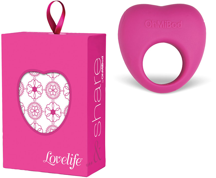 Anneau vibrant rechargeable OhMiBod Lovelife & Share