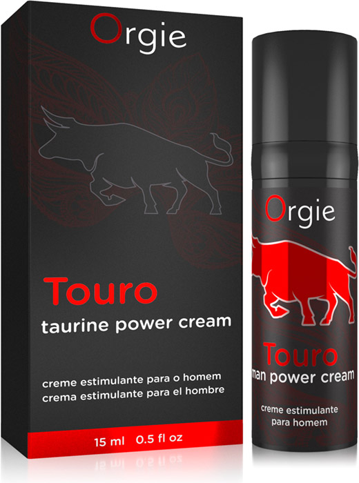 Orgie Touro erection stimulating cream (for men)