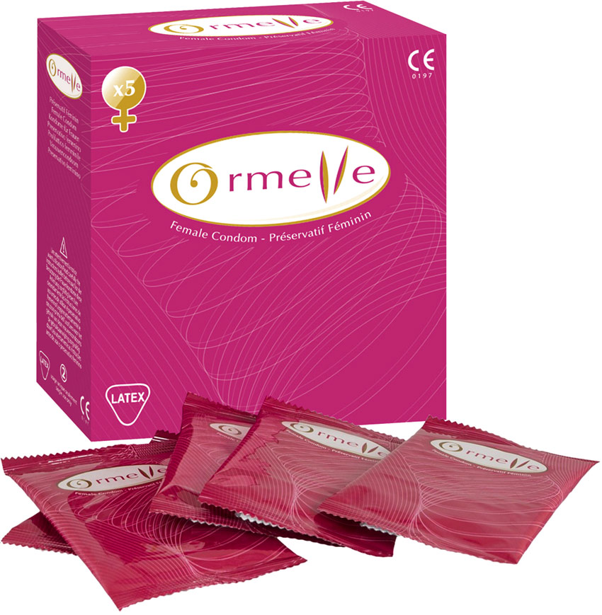 Ormelle Female Condom (5 female condoms)