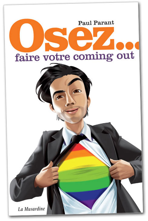 "Book ""Osez... faire votre coming out"""