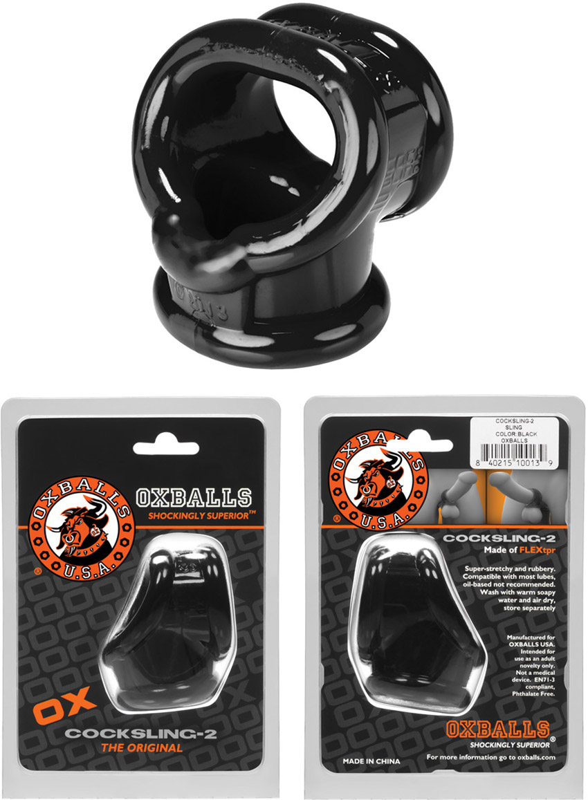 Oxballs Cocksling 2 cock ring & testicle spacer ring