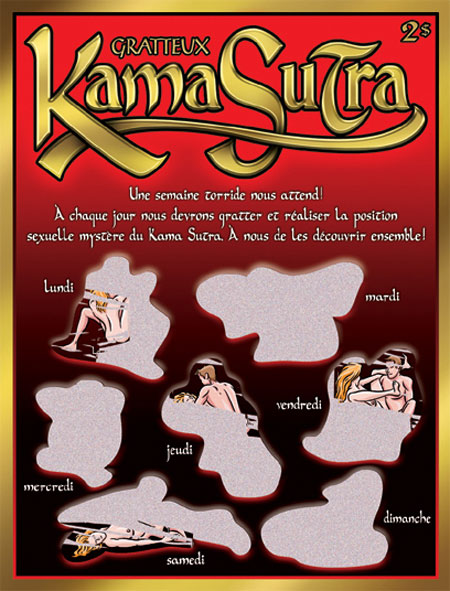 "Carte à gratter ""Kama Sutra"" (French)"