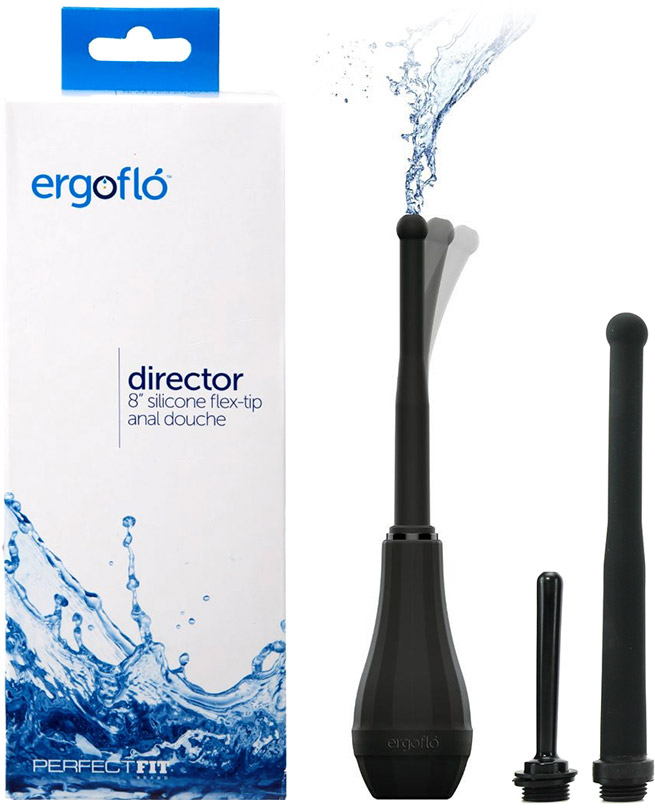 Poire de lavement PerfectFit Ergoflo Director