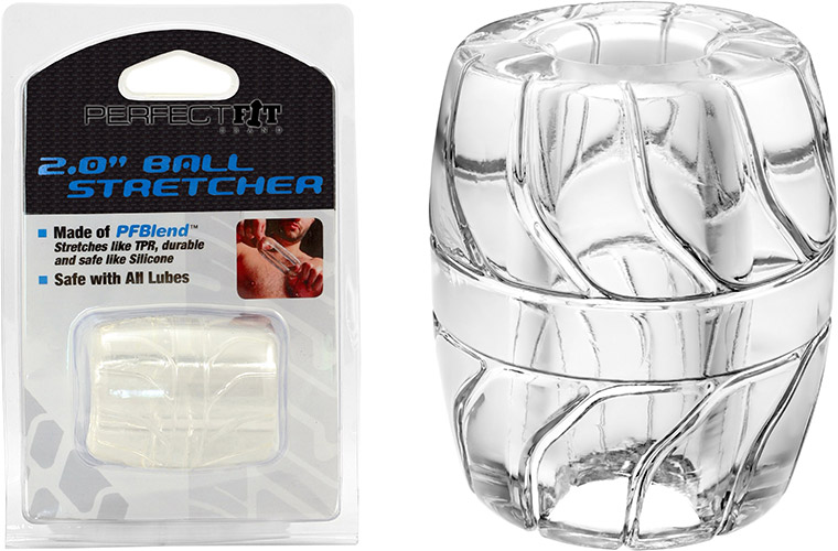 PerfectFit Ball Stretcher - Clear