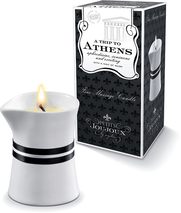 Petits Joujoux Fine Massage Candle - A Trip to Athens