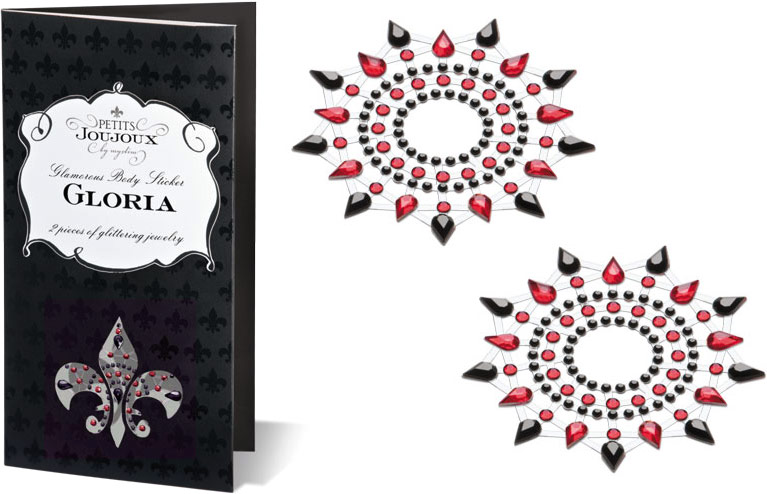 Petits Joujoux Gloria - Breast Jewelry - Black & red