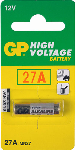 GP 27A Battery (1x)