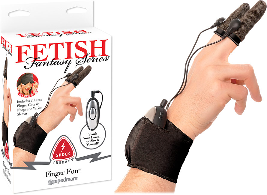Fetish Fantasy Finger Fun Fingertip Electrostimulator