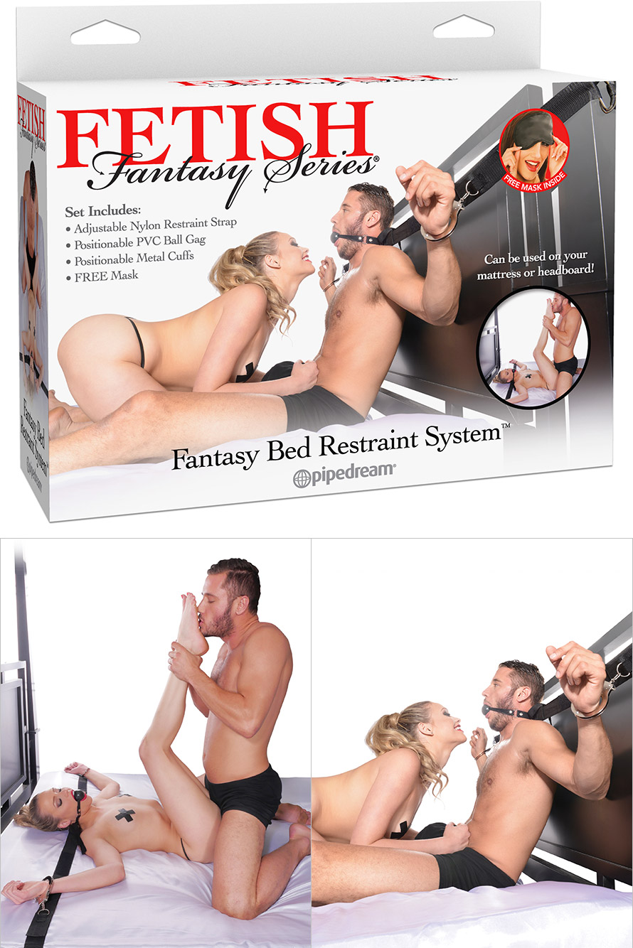 Fetish Fantasy Bed Restraint System Bondage-Kit für das Bett