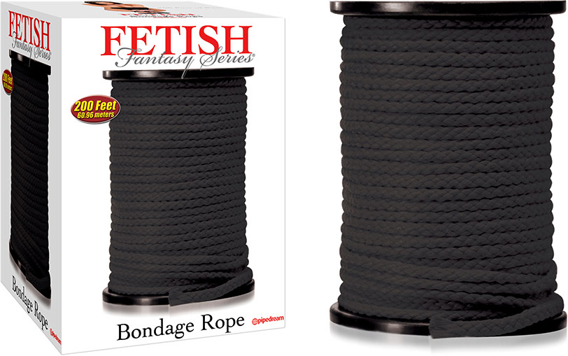 Fetish Fantasy Bondage Rope - 60 m - Black