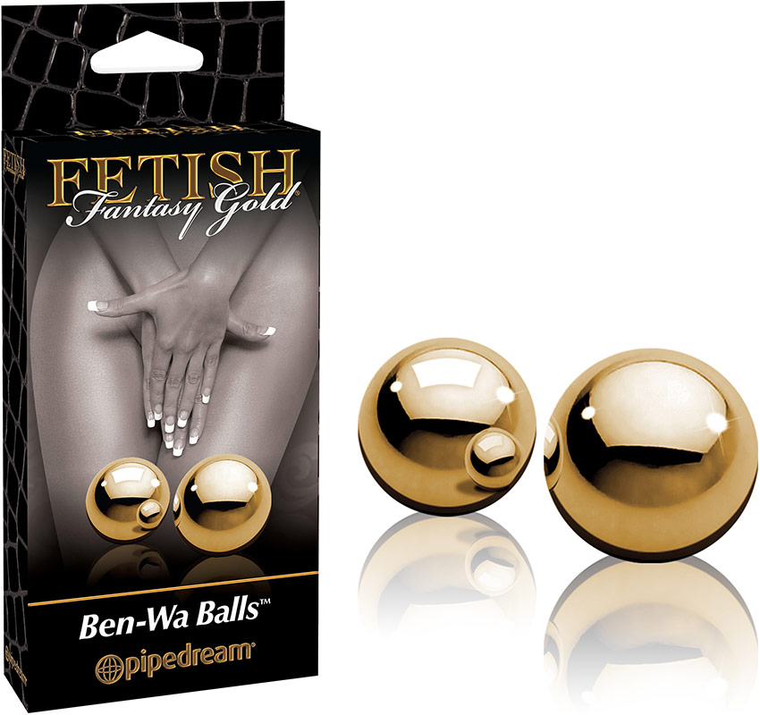 Boules Ben Wa Fetish Fantasy Gold - Or