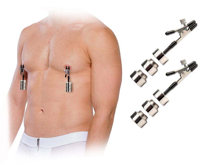 Fetish Fantasy Nipple Clamps with adjustable Weights