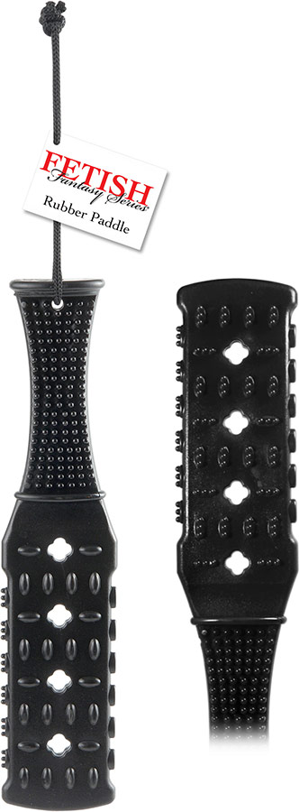 Fetish Fantasy Rubber Paddle - PVC Klatsche