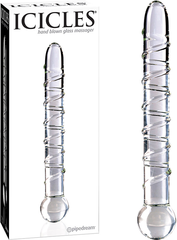 Icicles No. 1 Glass dildo