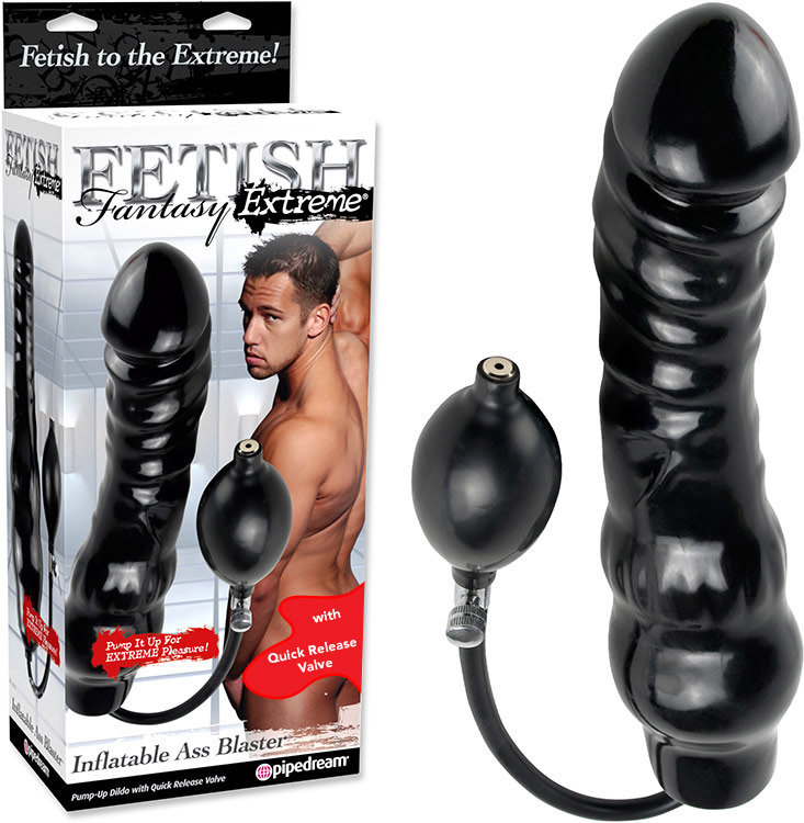 Fetish Fantasy Extreme Ass Blaster Inflatable Dildo