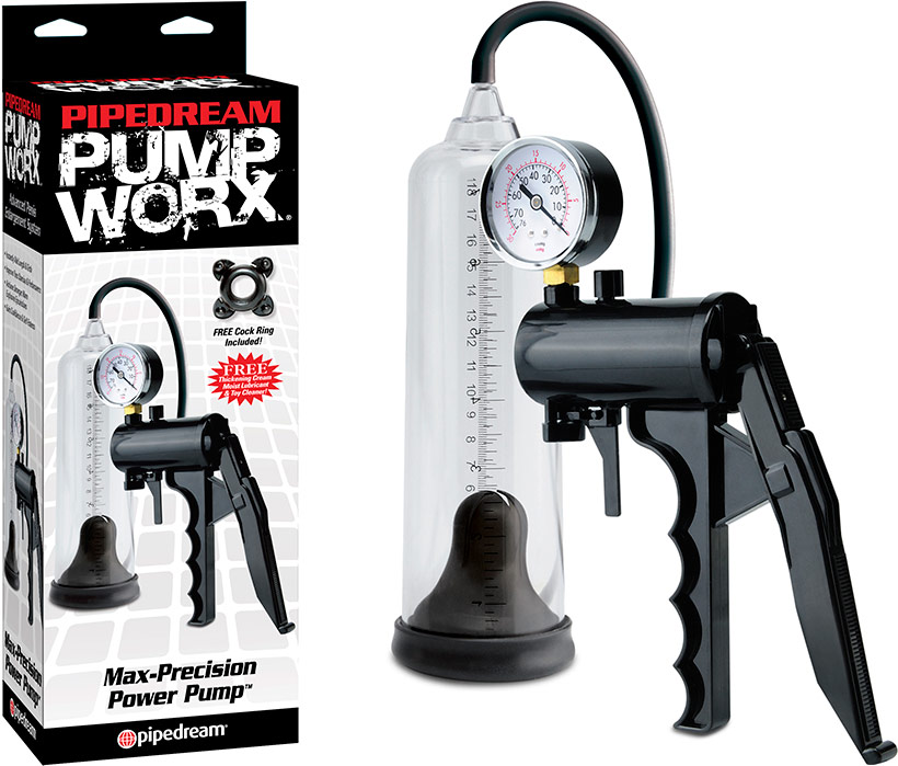 Pipedream Pump Worx Max-Precision Potenzpumpe