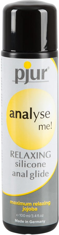 pjur analyse me! Relaxing Lubricant - 100 ml (silicone based)