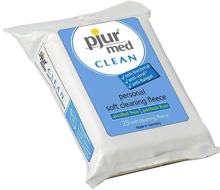 pjur med CLEAN Fleece-Tücher