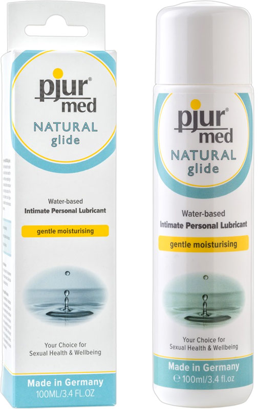 Lubrifiant pjur Med Natural glide - 100 ml (à base d'eau)