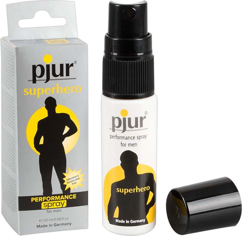 pjur Superhero Verzögerungs-Spray - 20 ml