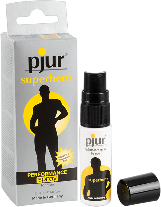 pjur Superhero Performance Spray - 20 ml