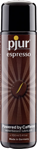 pjur Espresso Lubricant - 100 ml (water-based)