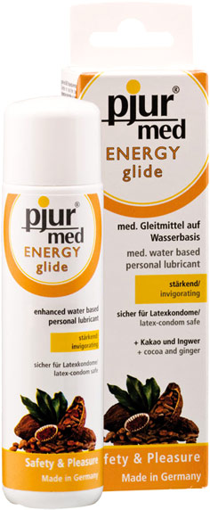 pjur Med Energy Glide Lubricant - 100 ml (Water-based)