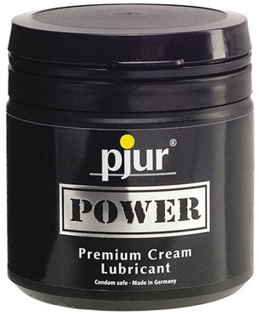 Lubrifiant pjur Power Premium Cream - 150 ml (à base d'eau)