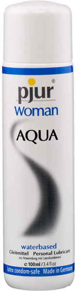 Lubrifiant pjur Woman Aqua - 100 ml (à base d'eau)