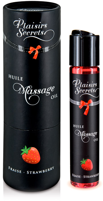 Plaisirs Secrets Edible massage oil - Strawberry