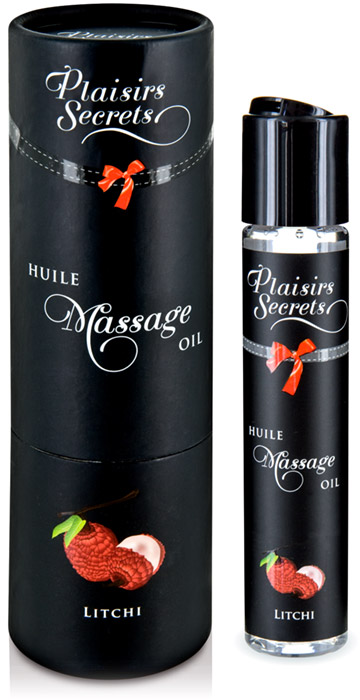 Plaisirs Secrets Edible massage oil - Lychee