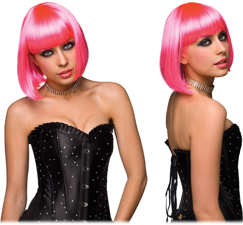 Pleasure Wigs Cici Wig - Hot Pink