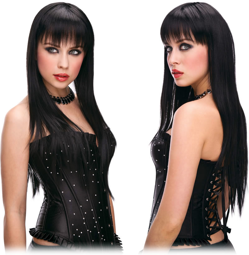 Pleasure Wigs Amber Wig - Black