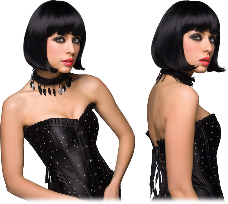 Perruque Pleasure Wigs Cici - Noir
