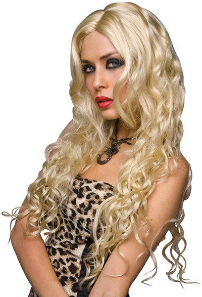 Perruque Pleasure Wigs Jennifer - Blonde platine