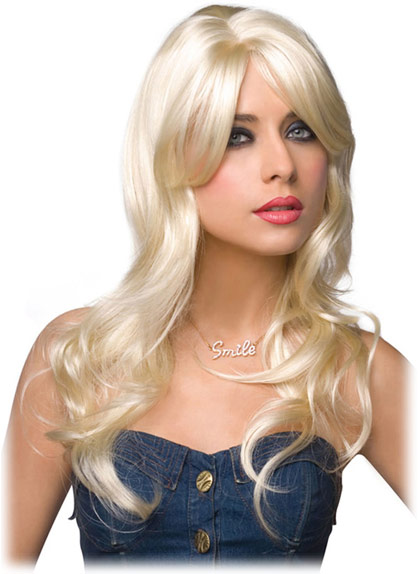 Pleasure Wigs Jessie Wig - Platinum Blonde