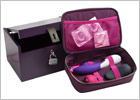 Moi Box Deluxe storage case for sex toys - Aubergine