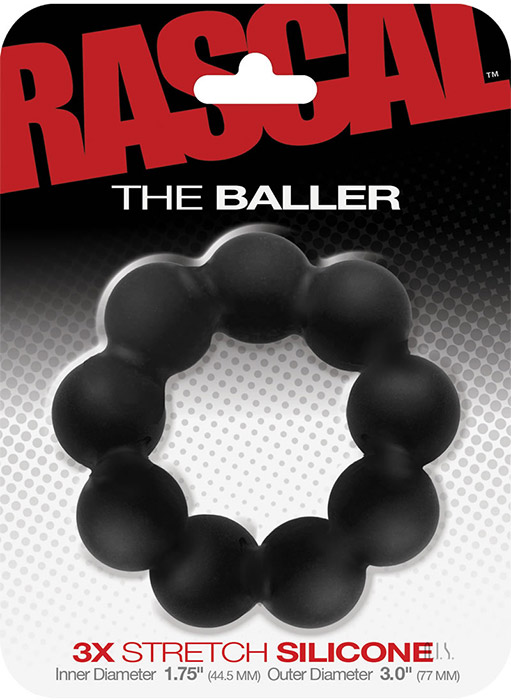 Rascal The Baller Silicone Cockring