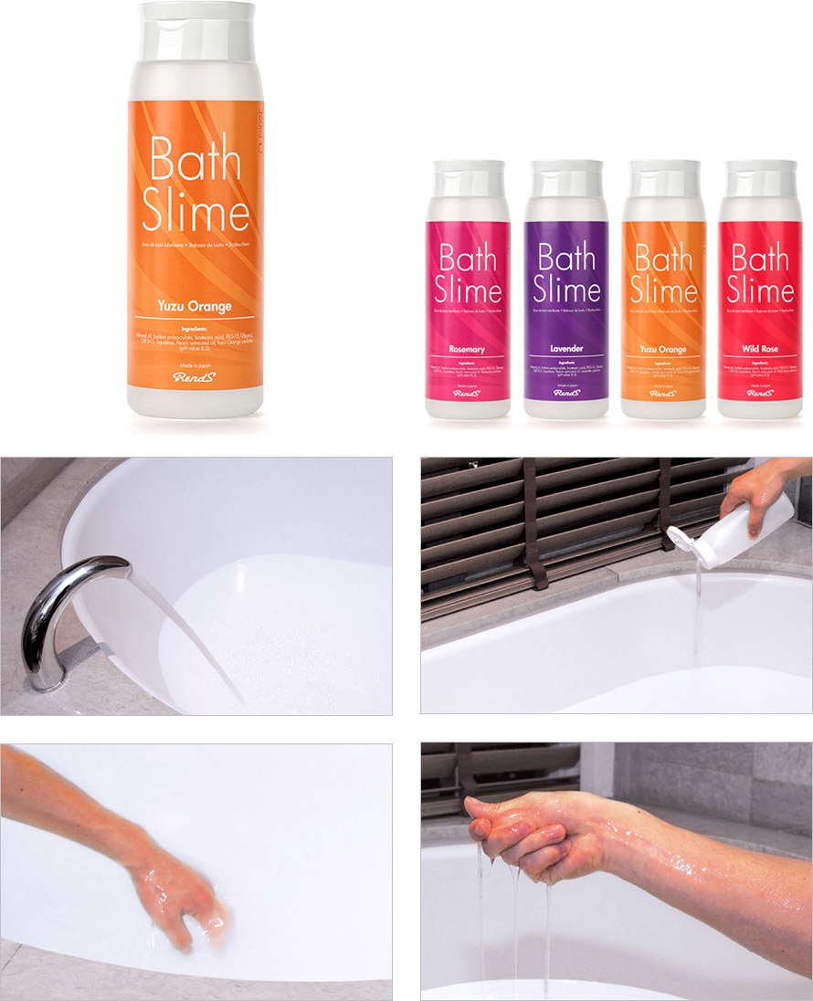 RendS Bath Slime - Gelée de bain lubrifiante - Yuzu Orange